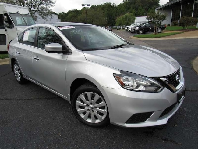Certified Used 2017 Nissan Sentra S + Bluetooth 4 Door Sedan near Richmond, VA