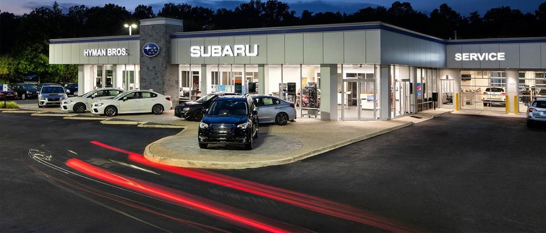 Subaru Dealer Richmond, VA Area | Hyman Bros  Subaru