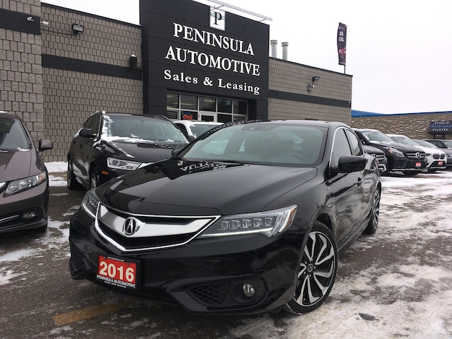 2016 Acura ILX A-Spec Navigation, Roof, Leather, Winter Tires Sedan