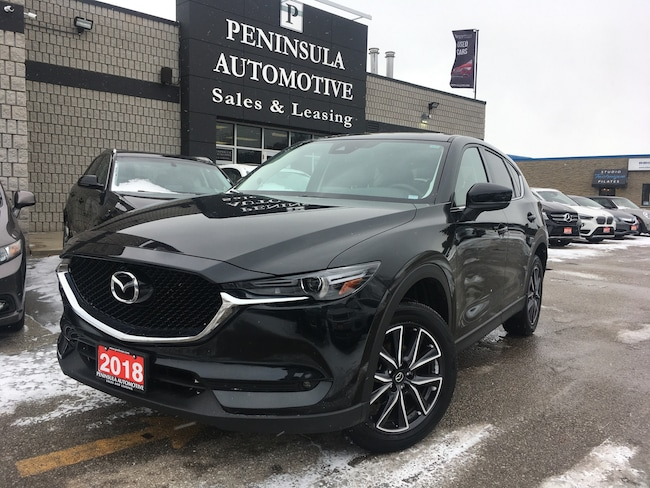 2018 Mazda CX-5 GT NAVIAGTION ROOF LEATHER BLIND SPOT SUV
