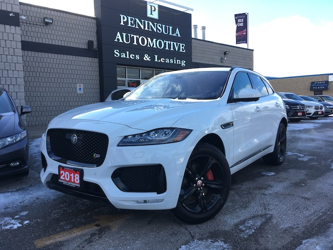 2018 Jaguar F-Pace S NAVIGATION PANOROOF BLACKPACK SUV