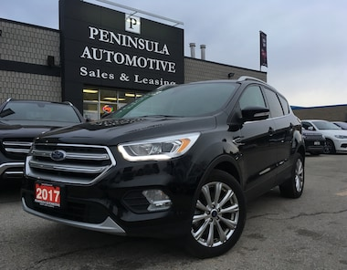 2017 Ford Escape Titanium Navigation, Leather, Panoroof SUV