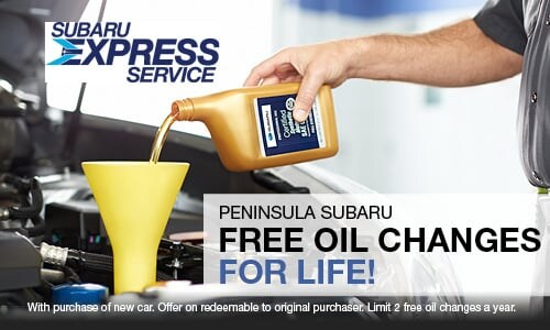 FREE Oil Changes For Life!