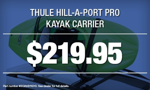 Thule Hill-A-Port Pro Kayak Carrier