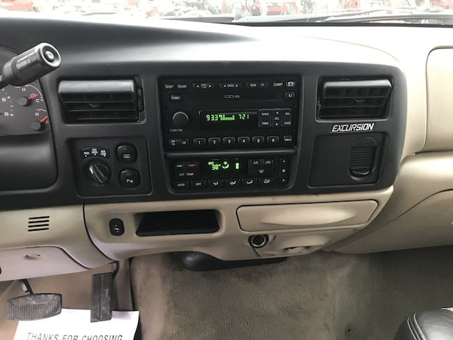 Used 2005 Ford Excursion For Sale At Pennington Ford Vin