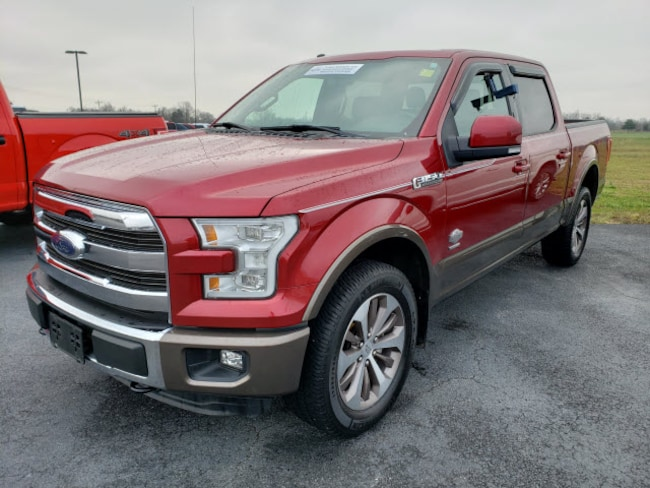 2015 Ford F-150 King Ranch 4WD SuperCrew 145 King Ranch