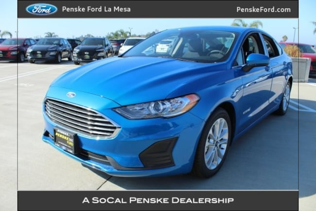 New 2019 Ford Fusion Hybrid SE Sedan For Sale/Lease La Mesa, CA