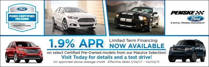 Certified Pre Owned Ford Edge