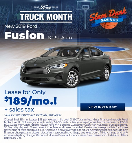 19 Fusion Lease March