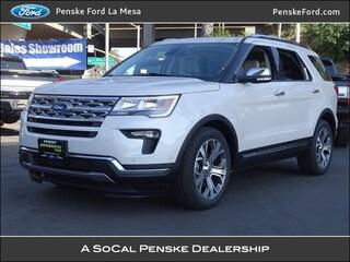 New 2019 Ford Explorer Limited SUV La Mesa, CA