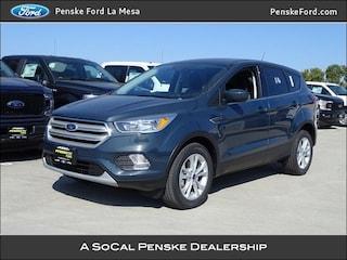 New 2019 Ford Escape SE SUV La Mesa, CA