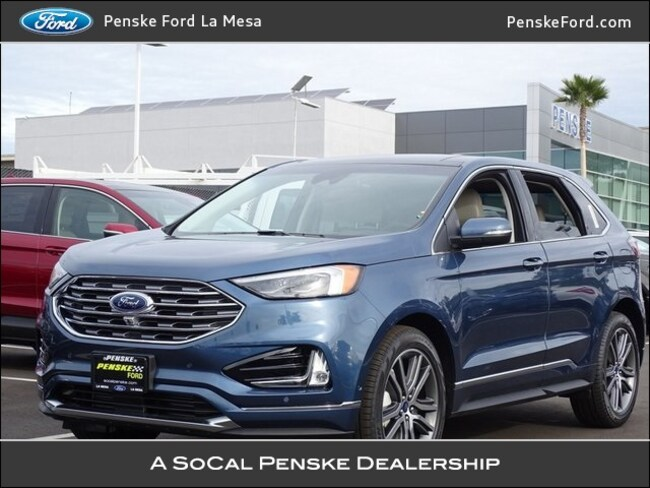 new 2019 ford edge titanium suv for sale lease la mesa ca