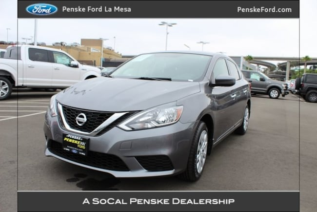 Used 2016 Nissan Sentra S Sedan La Mesa CA