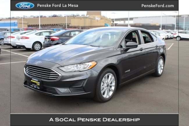 New 2019 Ford Fusion Hybrid SE Sedan For Sale/Lease La Mesa, CA