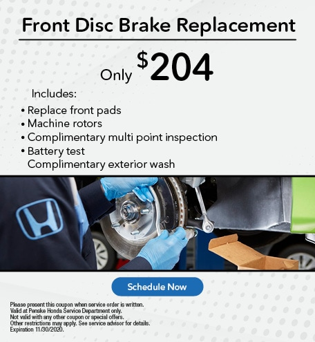 Front Disc Brake Replacement