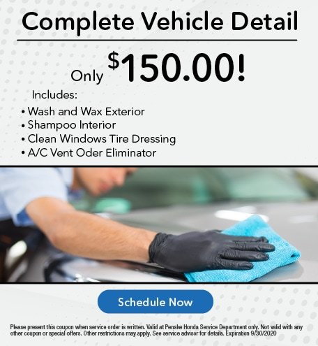 Complete Vehicle Detail