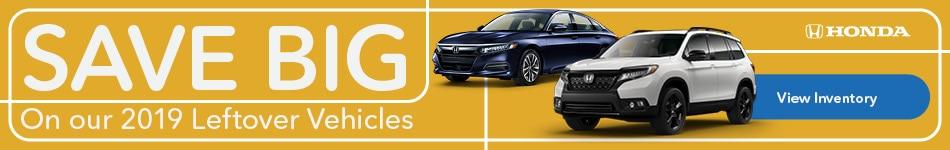 2019 Honda Inventory