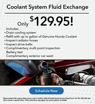 Coolant System Fluid Exchange