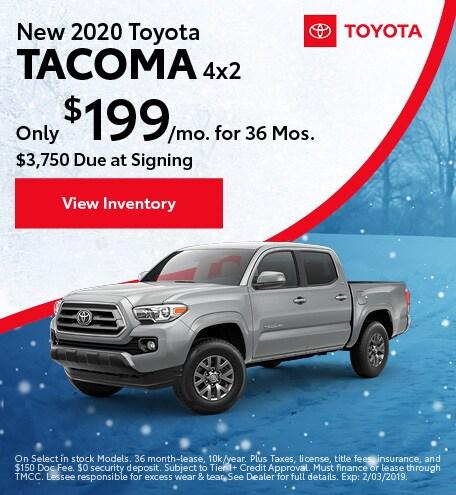 2020 - Tacoma - January