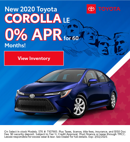 2020 - Corolla - February