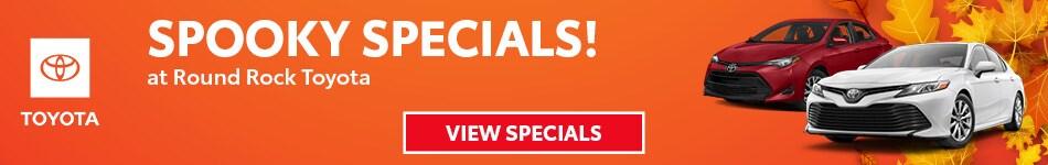 2019 - Spooky Specials - October