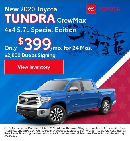 2020 - Tundra - February