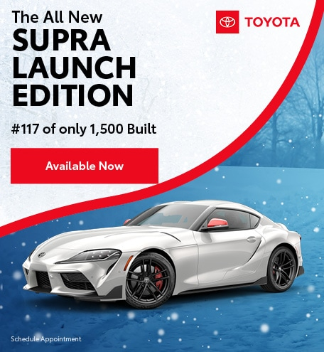 2020 - All New Supra Launch Edition - January