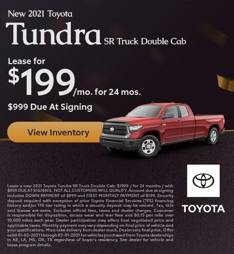 2021 - Tundra - January