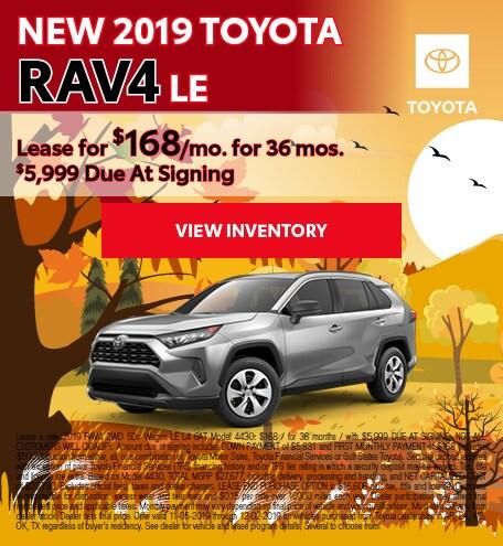 2019 - RAV4 - November