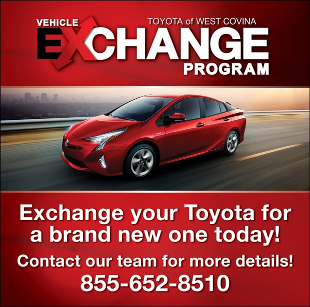vehicle exchange program penske toyota of west covina. Black Bedroom Furniture Sets. Home Design Ideas