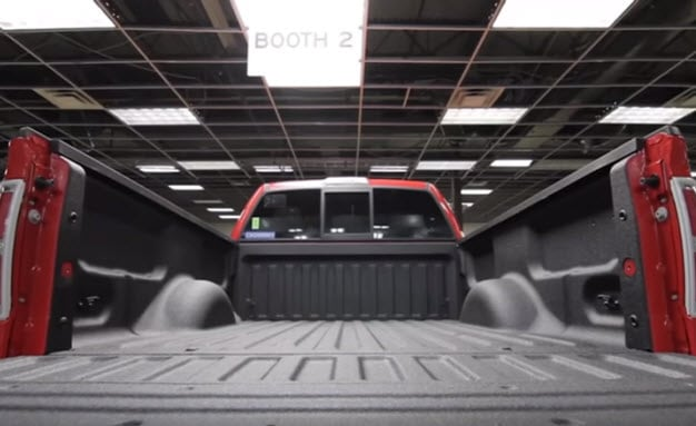 Ford Spray-In Truck Bed Liners