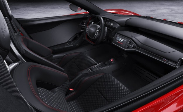 2018 Ford GT '67 Heritage Edition - Interior