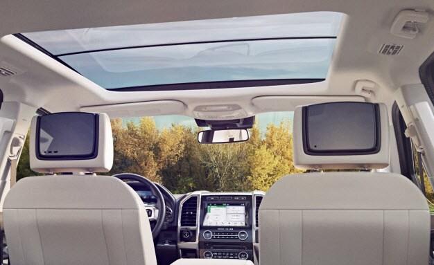 TV Monitors - Rear Seat Entertainment System