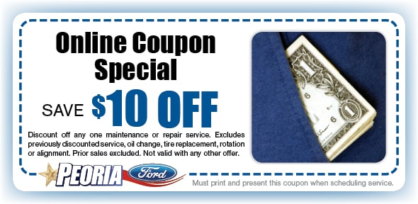 Save on Any Service Coupon, Phoenix West Valley Automotive Service Special
