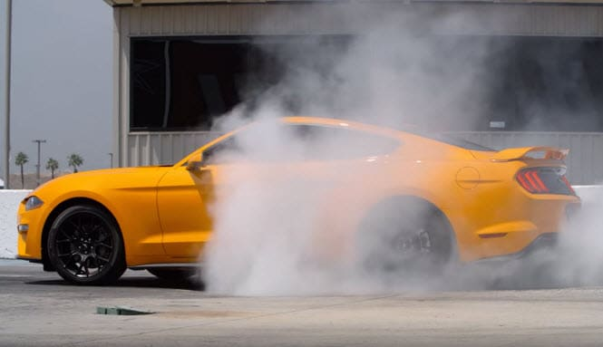 2018 Ford Mustang Burnouts