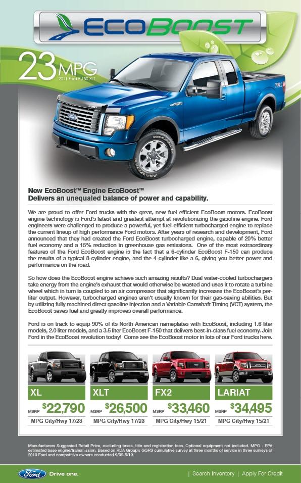 2012 ford f150 v6 ecoboost mpg