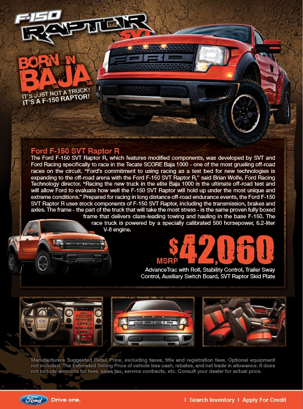 new ford f 150 raptor for sale gwinnett place ford duluth ga. Black Bedroom Furniture Sets. Home Design Ideas