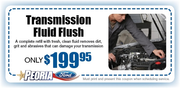 Transmission Flush Service Coupon, Phoenix West Valley Automotive Service Special