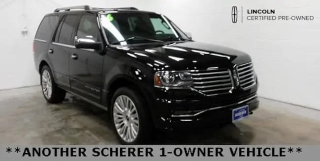 Certified Pre-Owned 2016 Lincoln Navigator Reserve SUV in Peoria, IL