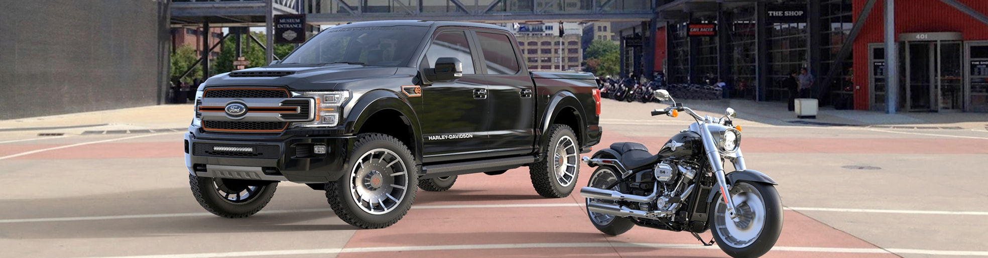 Harley Davidson Performance Trucks