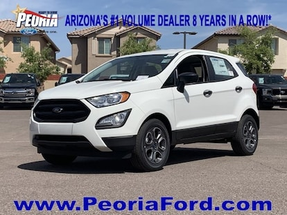 New 2019 Ford EcoSport For Sale at Peoria Ford | VIN: MAJ3S2FE6KC251070