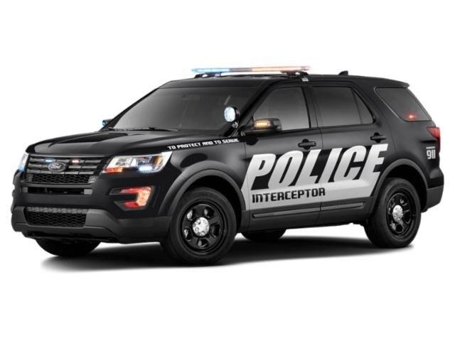 2019 Ford Police Interceptor Utility Base SUV