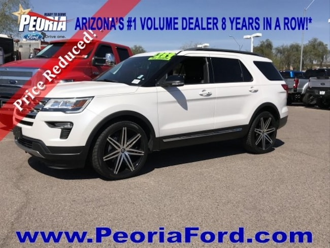 2018 Ford Explorer XLT Plus SUV
