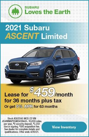 2021 Ascent - April