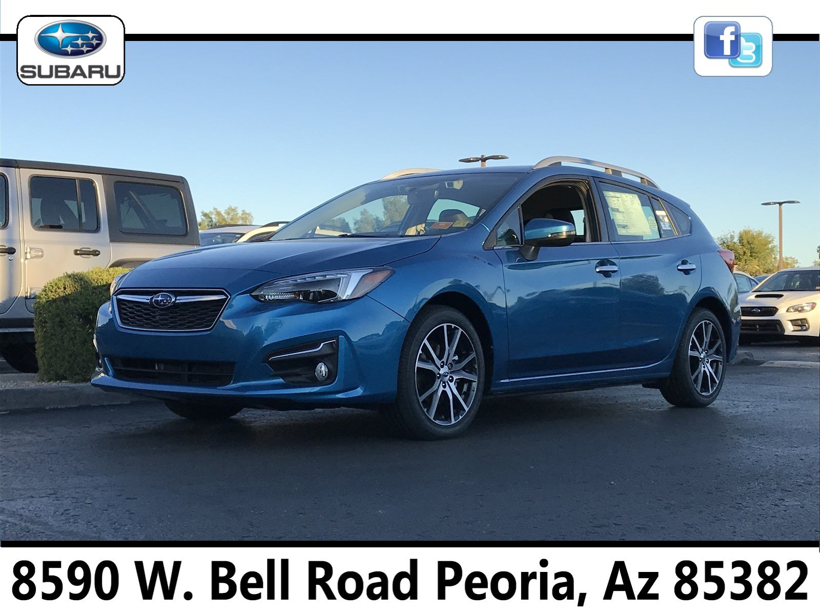 2019 Subaru Impreza 2.0i Limited 5-door S7610