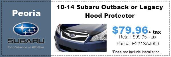 Subaru Auto Parts Accessories Specials