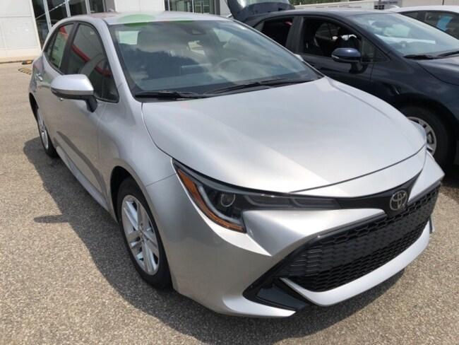 Peppers Toyota Paris Tn >> New 2019 Toyota Corolla Hatchback For Sale Paris Tn