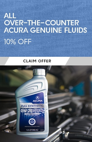 All Over-the-Counter Acura Genuine Fluids
