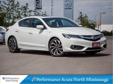 2016 Acura ILX A-Spec. Navi. Bluetooth. Leather. Htd Seats Sedan