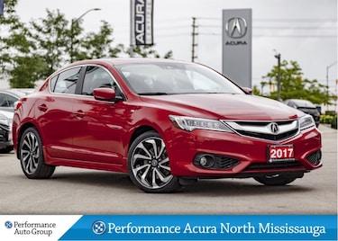2017 Acura ILX A-Spec. Navi. Camera. Htd Seats. Roof Sedan